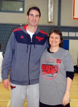 Sue Loubser and Jon Babul from the Hawks Development Team.